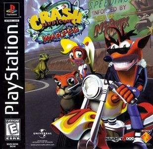 Crash Bandicoot Warped facts