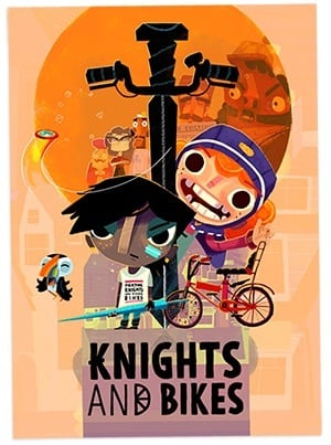 Knights and Bikes facts