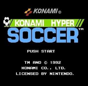 Konami Hyper Soccer facts
