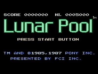 Lunar Pool facts