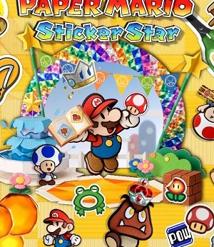 Paper Mario Sticker Star facts