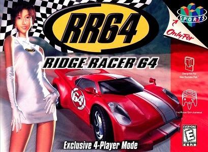 Ridge Racer 64 facts