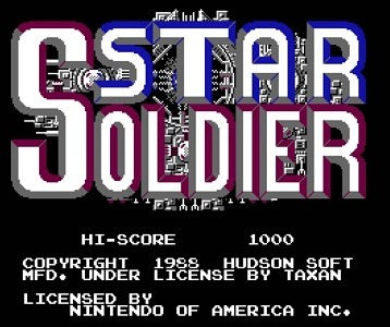 Star Soldier facts