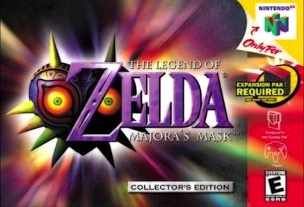 The Legend of Zelda Majora's Mask facts