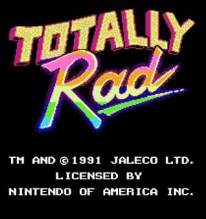 Totally Rad facts