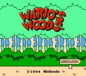 Wario's Woods facts