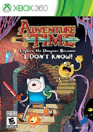 Adventure Time Explore the Dungeon Because I Don't Know! facts