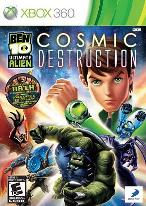 Ben 10 Ultimate Alien Cosmic Destruction facts