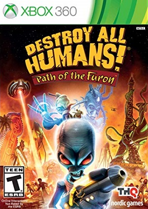 Destroy All Humans! Path of the Furon facts