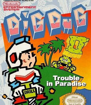 Dig Dug II Trouble in Paradise facts