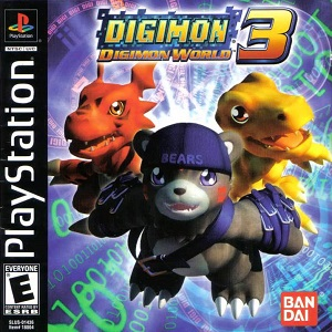 Digimon World 3 facts