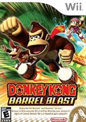 Donkey Kong Barrel Blast facts