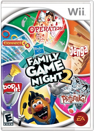 Hasbro Family Game Night 2 facts