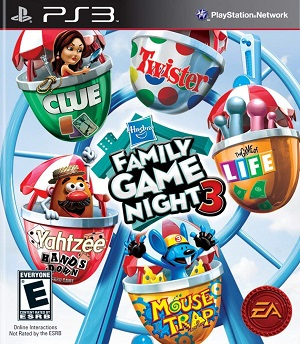 Hasbro Family Game Night 3 facts