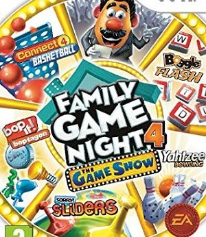 Hasbro Family Game Night 4 facts