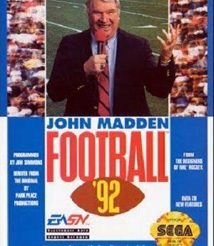 John Madden Football '92 facts