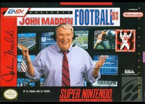 John Madden Football '93 facts