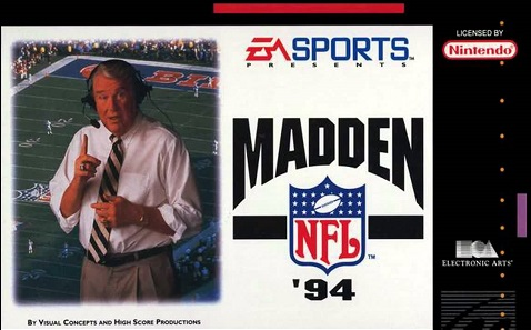 Madden NFL 94 facts