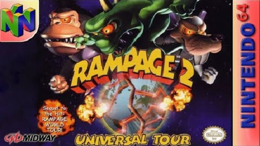 Rampage 2 Universal Tour facts