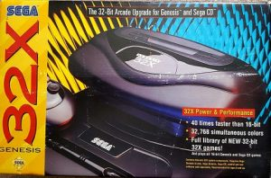 Sega 32x console facts