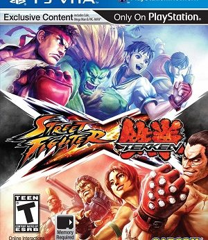 Street Fighter X Tekken facts