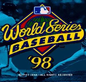 World Series Baseball 98 facts