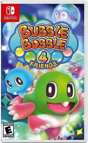 Bubble Bobble 4 Friends facts