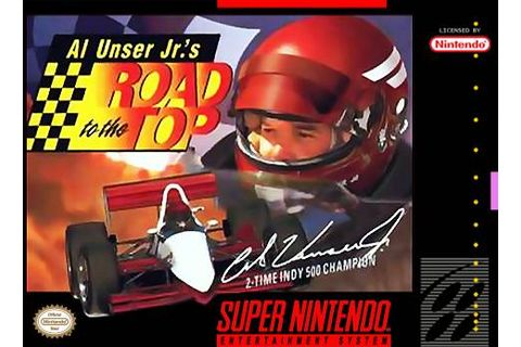 Al Unser Jr.'s Road to the Top facts and statistics