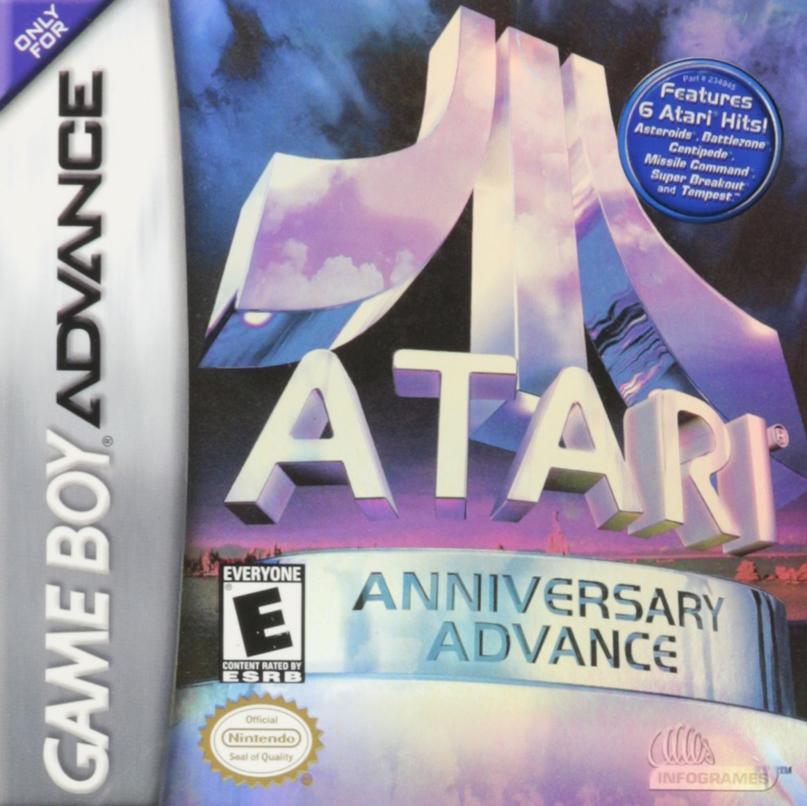 Atari Anniversary Advance facts and statistics
