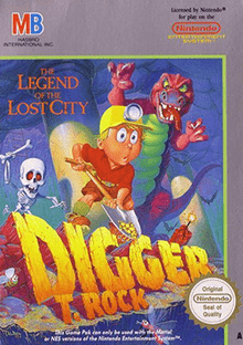 Digger T. Rock Legend of the Lost City facts and statistics