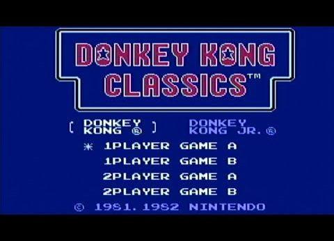 Donkey Kong Classics facts and statistics