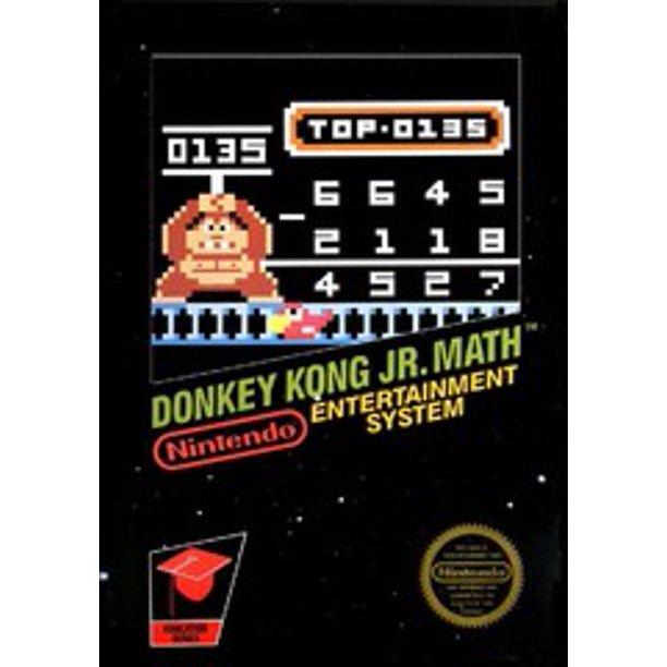 Donkey Kong Jr. Math facts and statistics