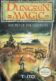 Dungeon Magic Sword of the Elements facts and statistics