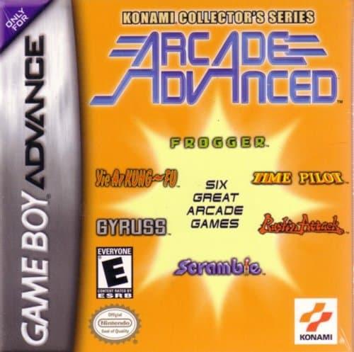 Konami Collector's Series Arcade Advanced facts and statistics