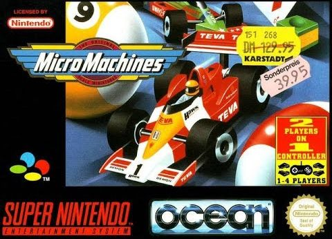 Micro Machines facts and statistics