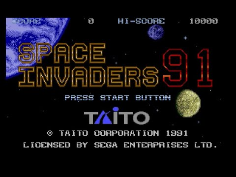 Space Invaders '91 facts and statistics
