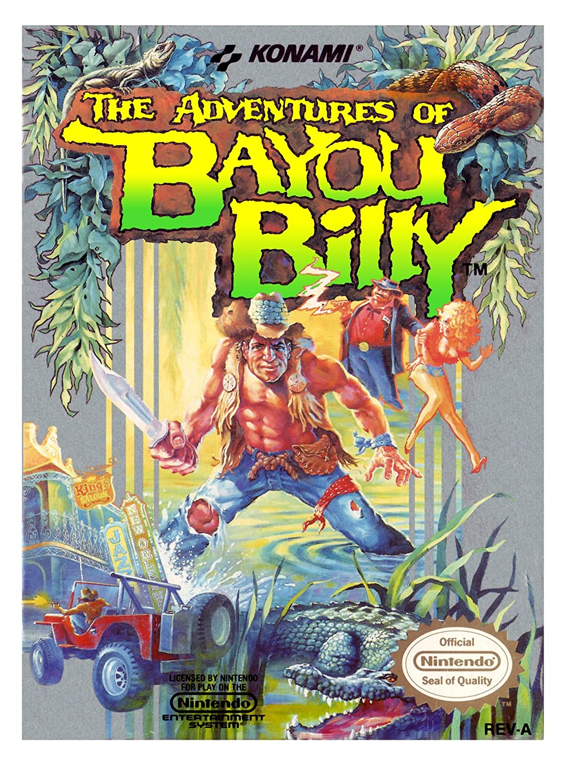 The Adventures of Bayou Billy facts and statistics