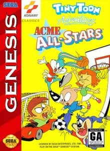 Tiny Toon Adventures ACME All-Stars facts and statistics