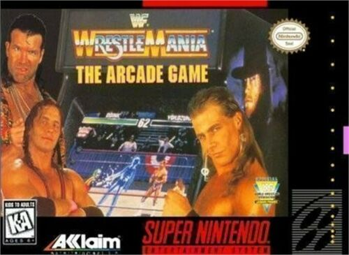 WWF WrestleMania The Arcade Game facts and statistics