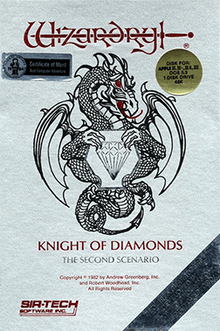 Wizardry II The Knight of Diamonds facts and statistics