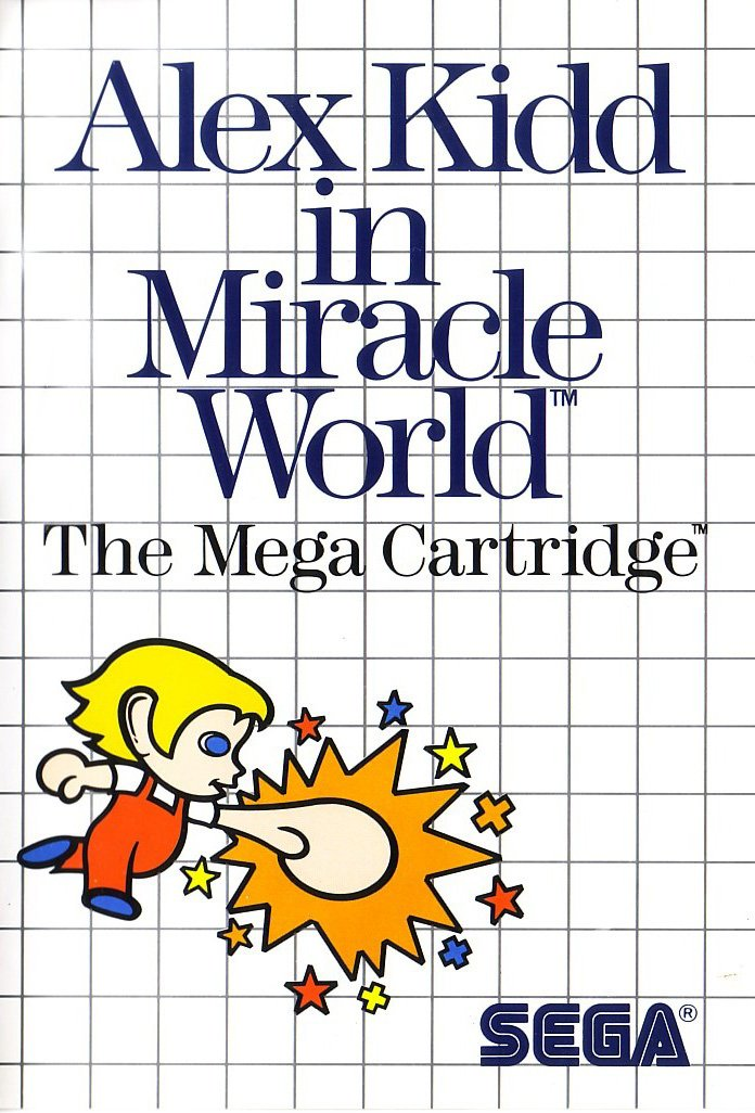 Alex Kidd in Miracle World facts and statistics