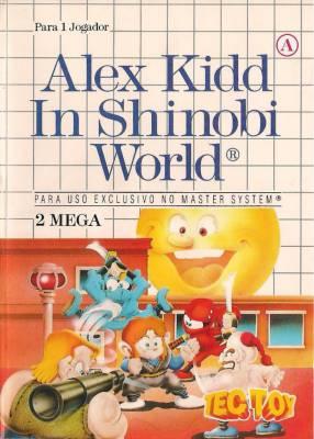 Alex Kidd in Shinobi World facts and statistics