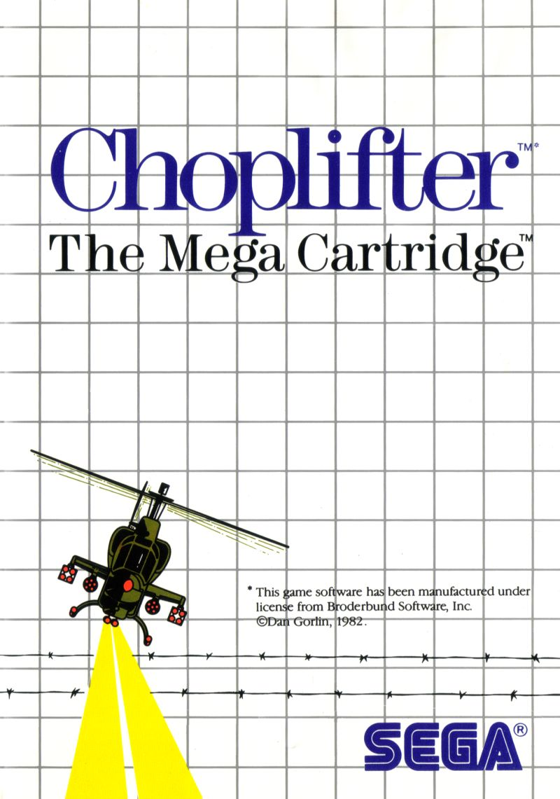 Choplifter facts and statistics