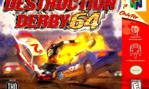 Destruction Derby 64 facts statistics
