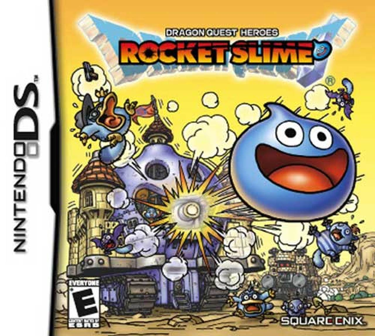 Dragon Quest Heroes Rocket Slime facts and statistics