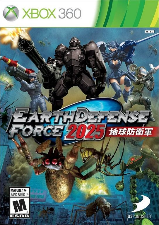 Earth Defense Force 2025 facts statistics