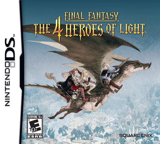 Final Fantasy The 4 Heroes of Light facts statistics