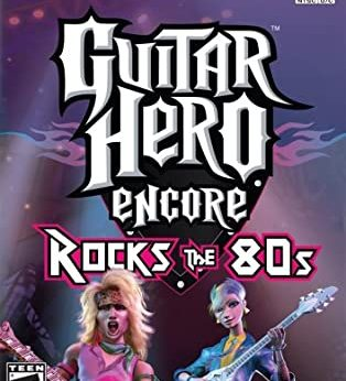 Guitar Hero Encore Rocks the 80s facts statistics