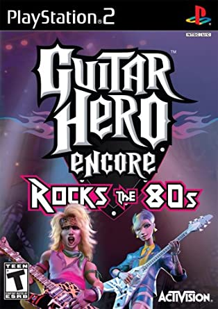 Guitar Hero Encore Rocks the 80s facts statistics
