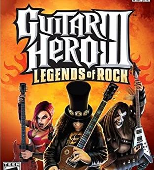Guitar Hero III Legends of Rock facts statistics